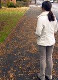 Девушка падения Стоковое Фото