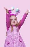 Девушка пасхи Стоковые Фото
