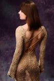 девушка платья Стоковые Изображения