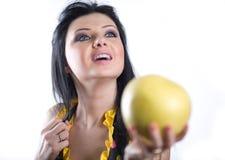 девушка плодоовощ славная Стоковое фото RF