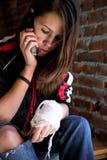 девушка повязки Стоковые Изображения RF