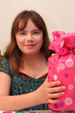 девушка подарка дня рождения 13 времен предназначенная для подростков Стоковые Изображения RF