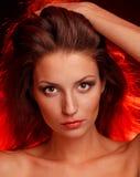 Девушка пожара Стоковое Изображение RF