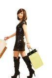 Девушка покупкы Стоковое Изображение RF