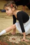 девушка пола типа балета немногая сидит Стоковые Фото