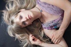 Девушка портрета красивейшая Стоковое Фото
