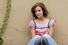 девушка предназначенная для подростков Стоковые Изображения RF