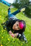 девушка предназначенная для подростков стоковая фотография rf