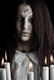 девушка привидения стоковое фото rf