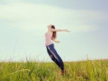 Девушка весны Стоковые Фотографии RF