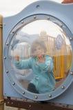 девушка пузыря Стоковое Фото