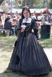 Девушка ренессанса справедливая стоковое изображение