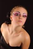 девушка ресниц Стоковая Фотография RF