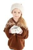 девушка рождества младенца стоковое изображение rf