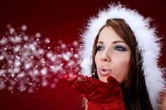 девушка рождества Стоковые Фото