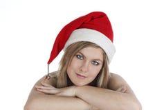 девушка рождества стоковые фотографии rf