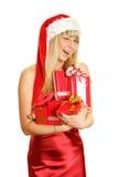 девушка рождества Стоковое Изображение RF