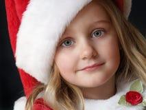 девушка рождества стоковое фото