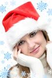 девушка рождества Стоковая Фотография RF