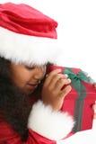 девушка рождества стоковая фотография