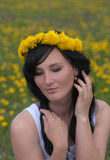 девушка романтичная Стоковое фото RF