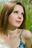 девушка романтичная Стоковое Изображение RF