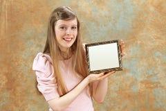 девушка самолюбивая Стоковое Фото