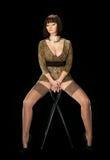 девушка сексуальная Стоковые Изображения