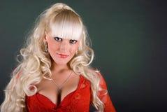 девушка сексуальная Стоковая Фотография
