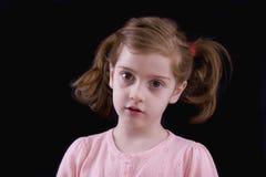 девушка серьезная Стоковое Фото