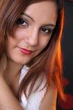 девушка симпатичная Стоковые Фотографии RF