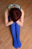 девушка сиротливая Стоковое Изображение RF