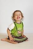 девушка смеется над немногой Стоковая Фотография RF