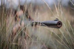 Девушка снайпера стоковое изображение rf