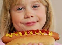 девушка собаки горячая немногая Стоковая Фотография