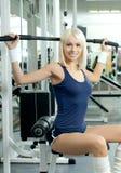 Девушка спорта Стоковое фото RF