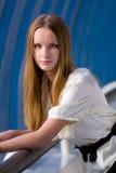 девушка способа красотки стоковая фотография rf