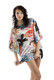 девушка способа платья цвета Стоковая Фотография RF