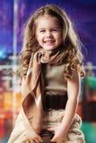 девушка способа ребенка красотки Стоковые Фото