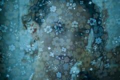 девушка стороны стоковое изображение