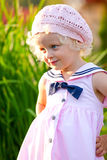 девушка счастливая немногая Стоковое фото RF