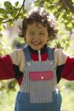 девушка счастливая немногая Стоковое Фото