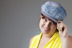 девушка счастливая Стоковая Фотография RF