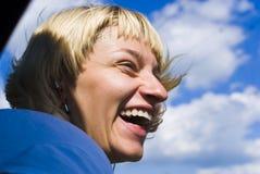девушка счастливая Стоковые Изображения