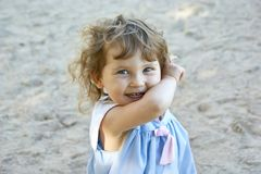 девушка счастливая Стоковое фото RF