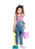 Девушка с ведром Стоковая Фотография RF