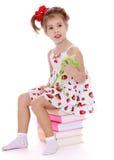 Девушка с волшебной палочкой Стоковая Фотография RF