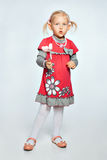 Девушка с игрушками Стоковое фото RF