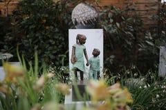 Девушка с мальчиком Стоковое Фото