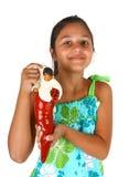 Девушка с объектом который приносит удачу в Неаполь Стоковая Фотография RF